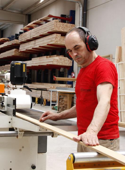 carpinteria industrial fabricante de ventanas de madera aislantes - Carreté Finestres