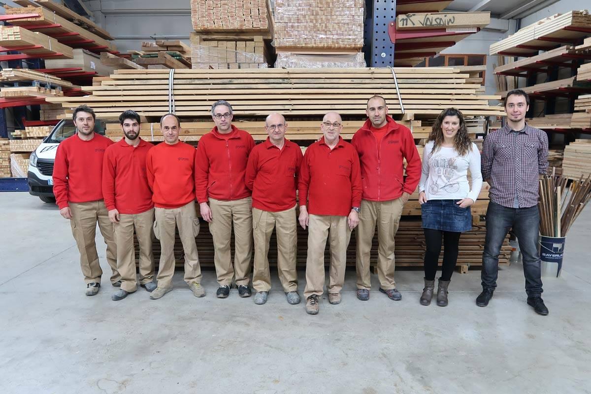 Navidad y jubilación de un carpintero con experiencia de Carreté Finestres