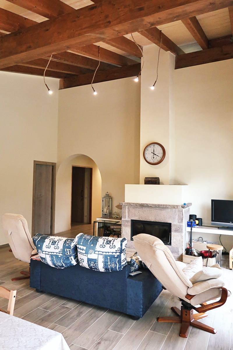 finestres de fusta dissenyades amb criteris d'eficiència i seguretat per Carreté Finestres a Girona- casa