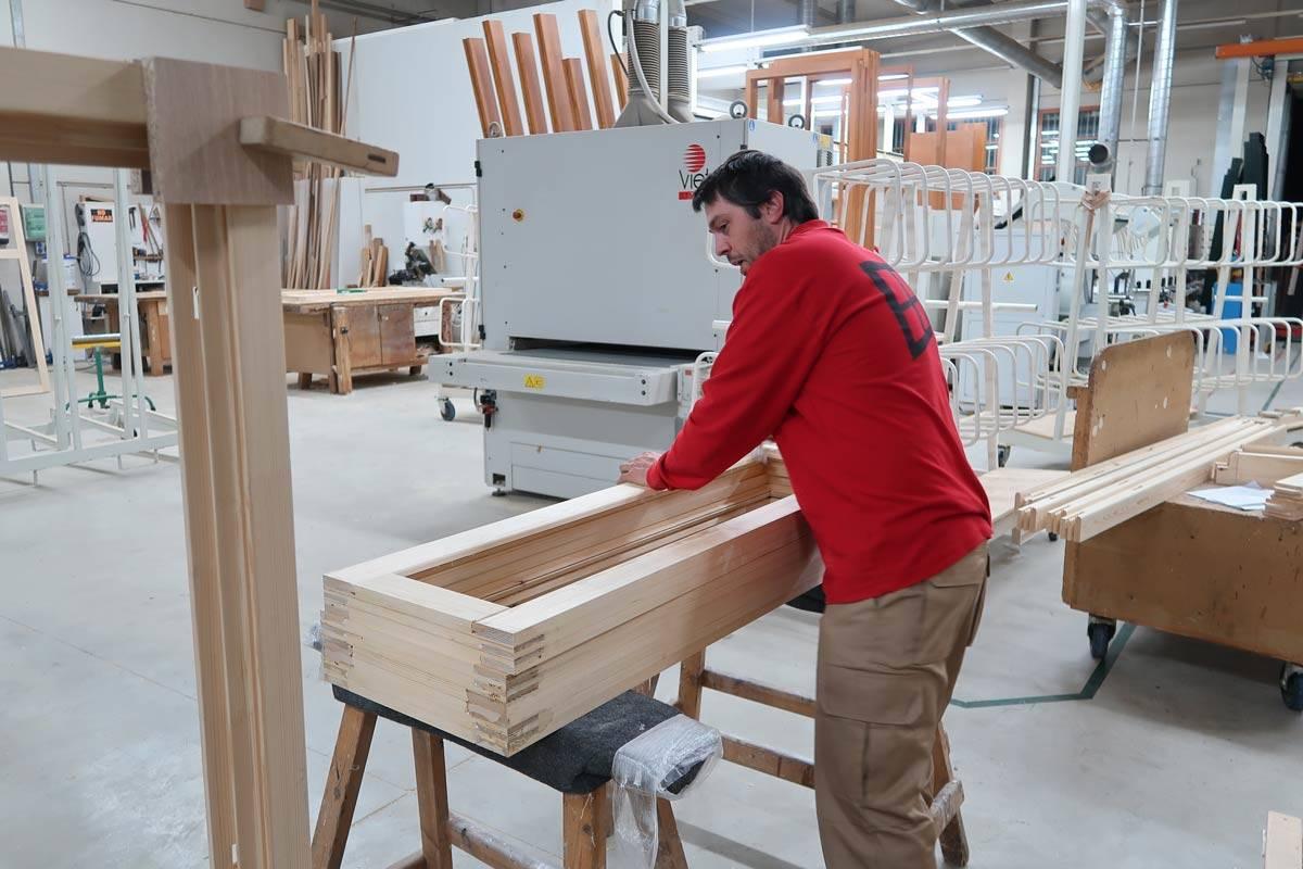 procés fabricació finestres fusta estalvi energètic i econòmic-Carreté Finestres, La Selva del Camp