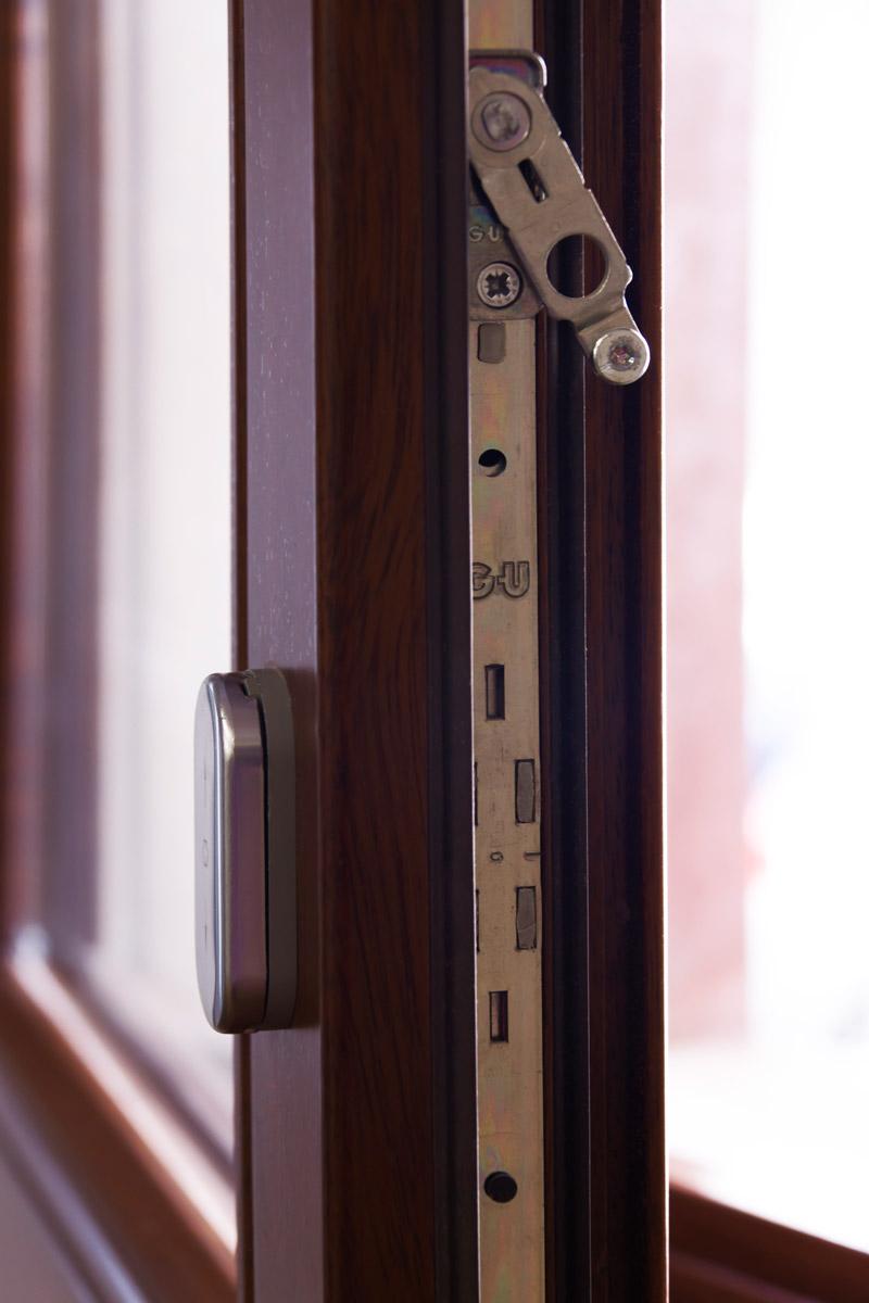 ventanas de madera en Balaguer Lleida fabricadas a medida para Carreté Finestres fabrica de ventanas en La Selva del Camp-vidrio bajo emisivo