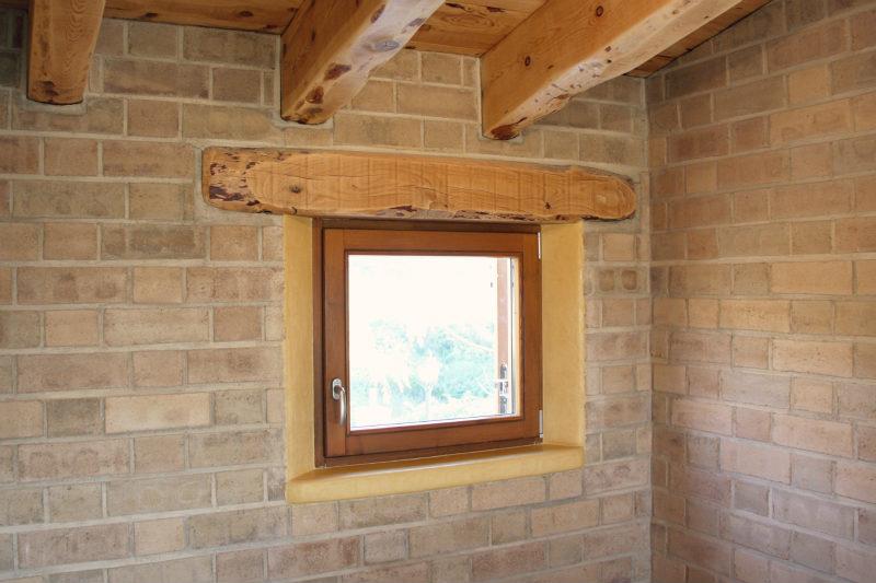 finestres de fusta fabricades per casa sostenible i ecològica a Montmell per Carreté Finestres fabrica de finestres-finestra de fusta ecològica