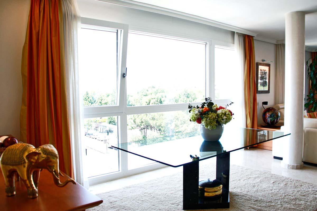 ventanas de madera y aluminio reforma vivienda Reus