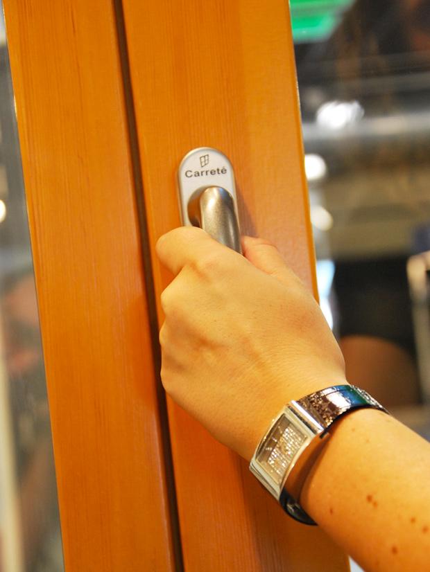 exposición Carreté Finestres ventanas de madera mixtas y ventanas de madera y aluminio en Expro Reus