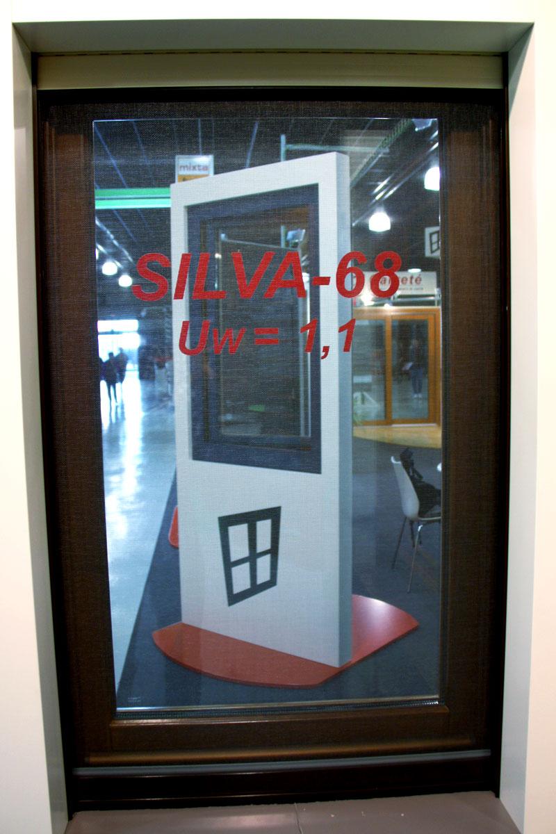exposición ventanas mixtas de madera y aluminio catálogo fabrica de ventanas y cerramientos Carreté Finestres en ExproReus-SILVA 68