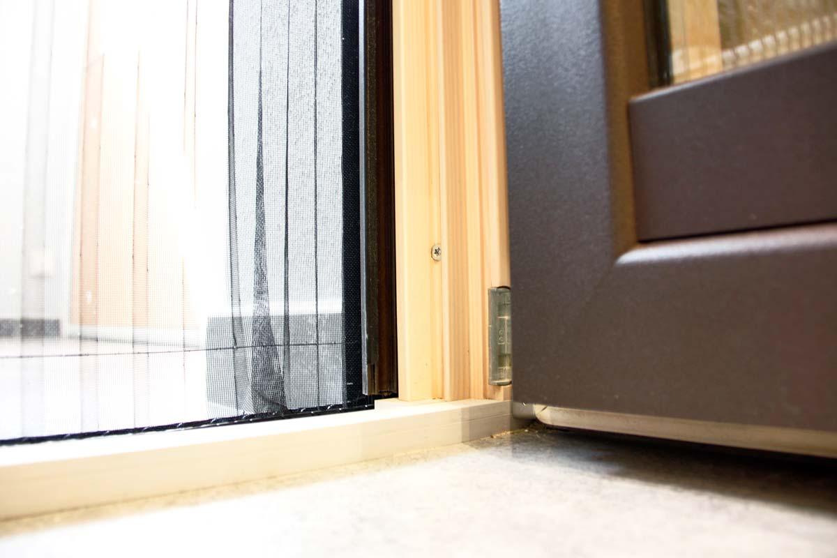 Reforma de finestres de fusta i alumini, finestres mixtes, a Vilanova i la Geltrú-casa