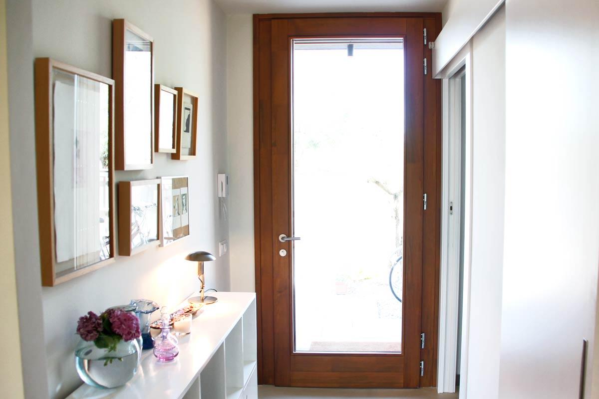 fabrica de puertas de entrada blindadas y ventanas de madera Carreté Finestres