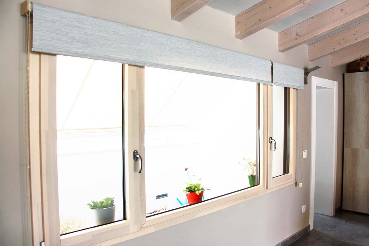 Reforma ventanas de madera aluminio y mixtas en Vilanova i la Geltru por Carreté Finestres-estores