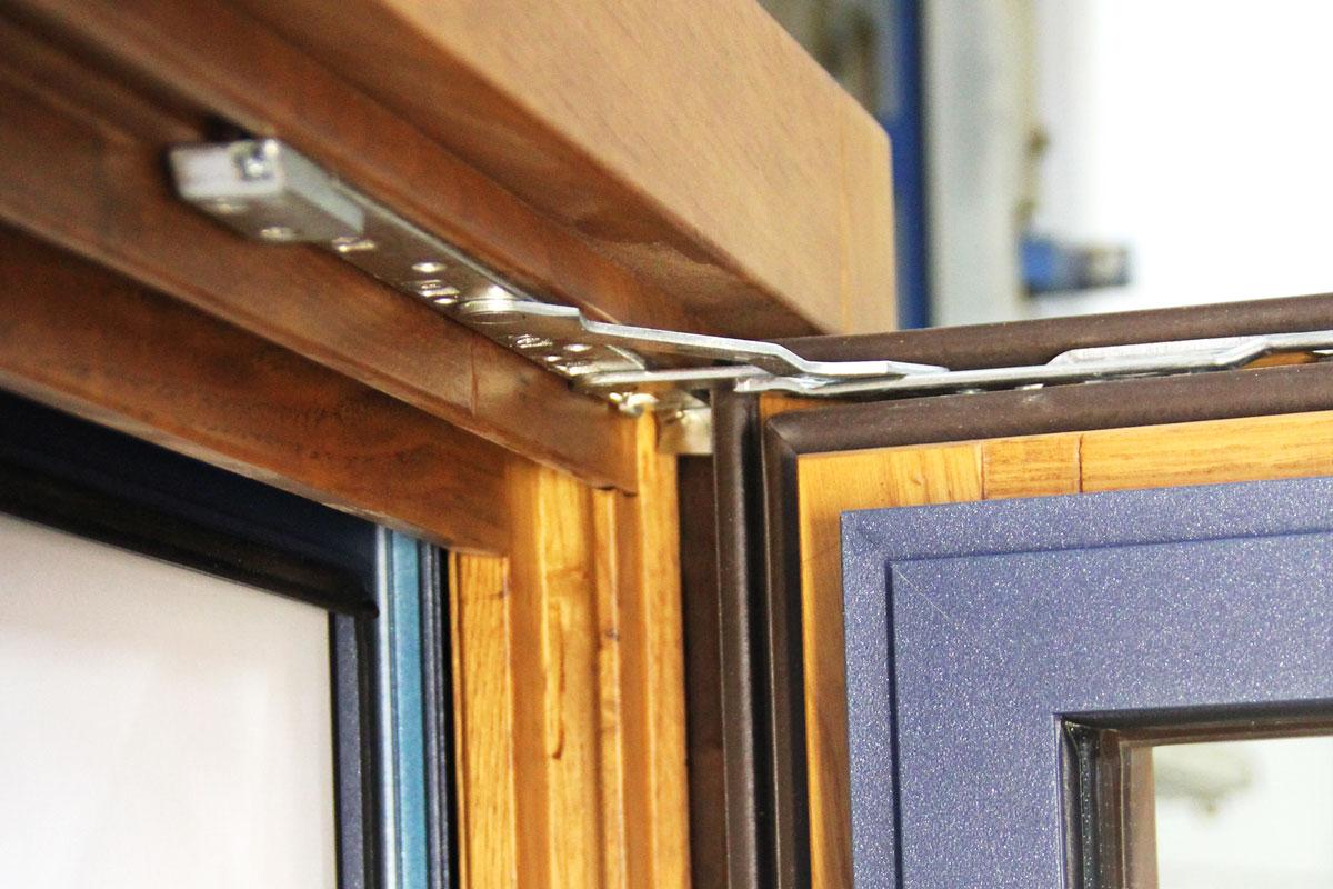 Carreté Finestres - ventana de madera y aluminio mixta Flat
