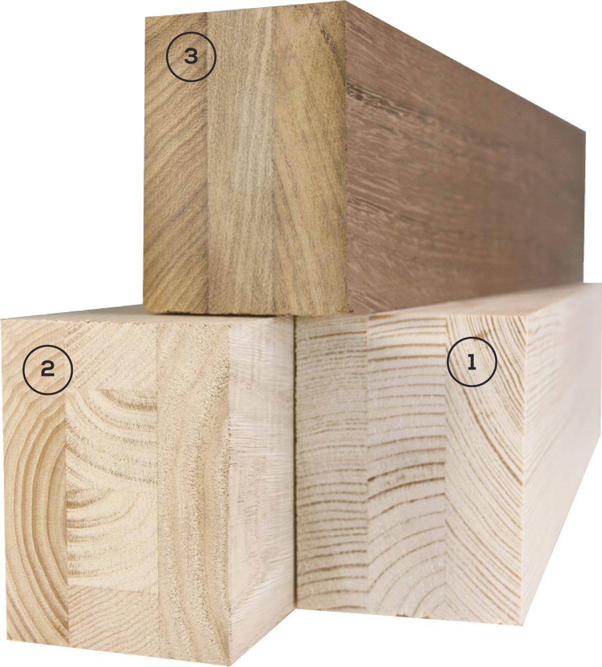 Carreté Finestres - madera de iroko, castaño o pino para la fabricación de ventanas de madera y aluminio