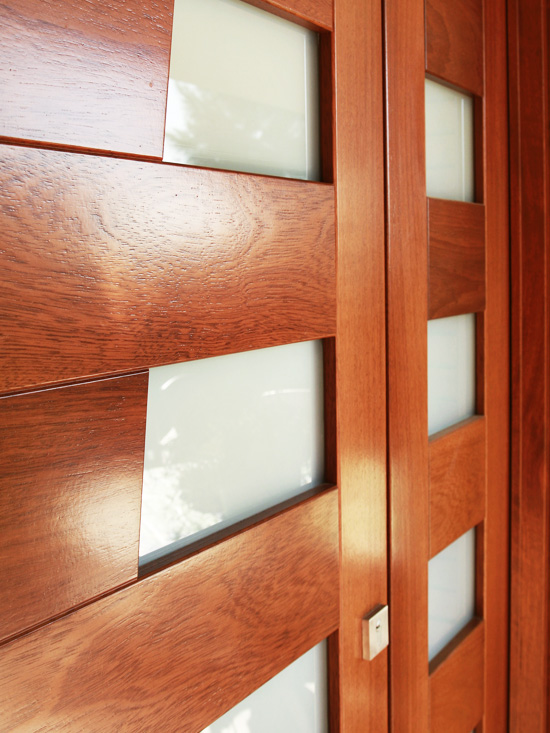 Carreté Finestres - porta entrada moderna