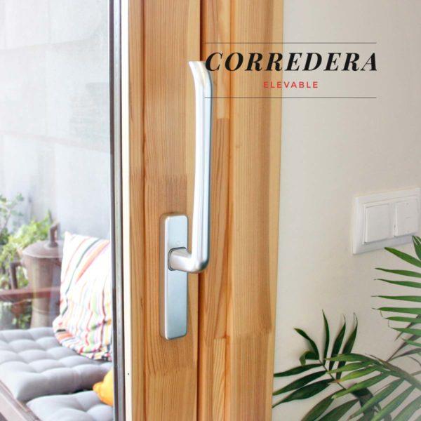 Carreté Finestres - corredera elevable ventana de madera y aluminio