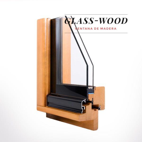 Ventana de madera Glass Wood - productos con un elevado ahorro ecónomico energético de Carreté Finestres