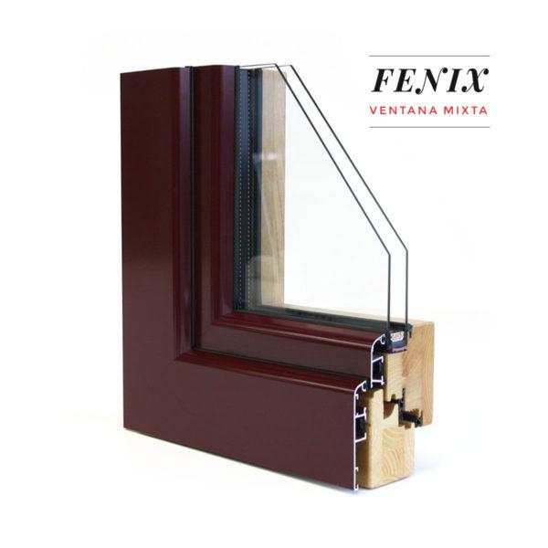 Carreté Finestres - ventanas mixtas de madera y aluminio exterior