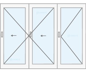 ventana corredera plegable catalogo productos fabrica de ventanas y cerramientos Carreté Finestres
