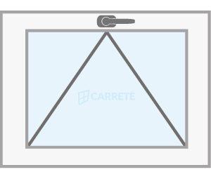 ventana abatible elevadora catalogo productos fabrica de ventanas y cerramientos Carreté Finestres