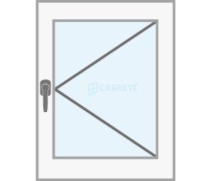 ventana practicable catalogo productos fabrica de ventanas y cerramientos Carreté Finestres