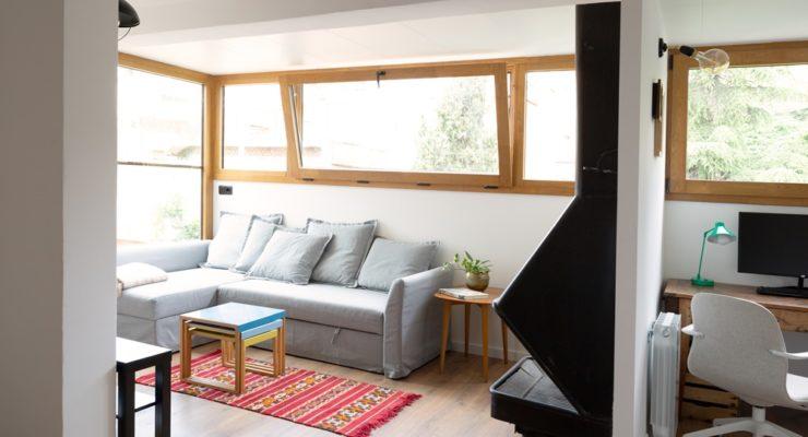 Renovación de ventanas mixtas en estudio de Barcelona