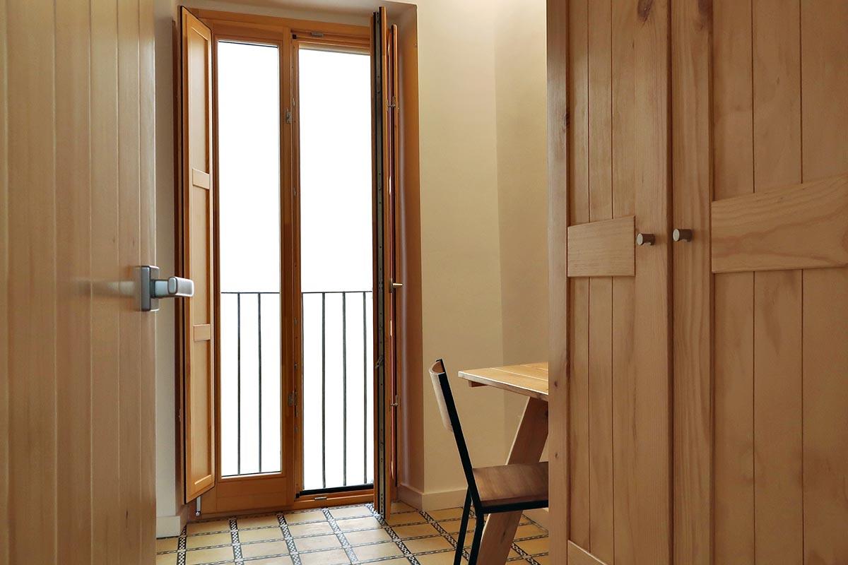 casa rural en Vilaplana (Baix Camp) con habitación doble de matrimonio - Carreté Finestres