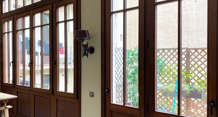 Tancaments i finestres a l'Eixample de Barcelona